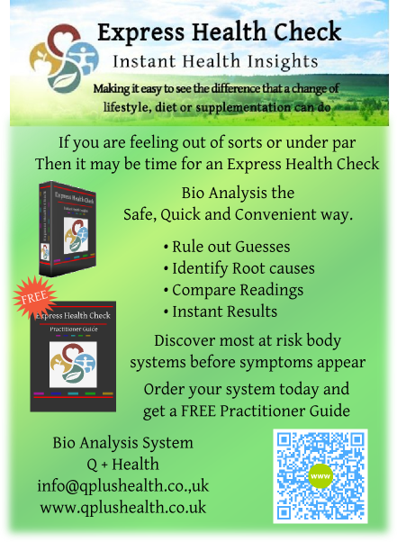 Express Health Check Bio Analysis system