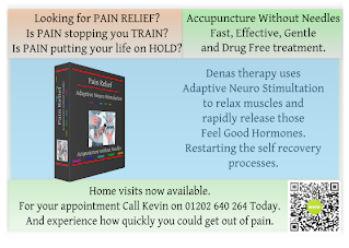 Pain Relief with Adaptive Neuro Stimlulation - Acupuncture without Needles